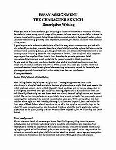 Character Sketch Essay Example Character Sketch Essay Character Analysis Essays