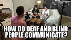 Jobs Blind People Can Do How Do Deaf And Blind People Communicate Youtube