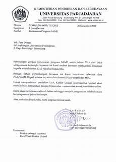 contoh surat kunjungan studi banding ke universitas surat 28