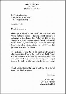 Correct Format For A Business Letter Lesson 7 Business Letters