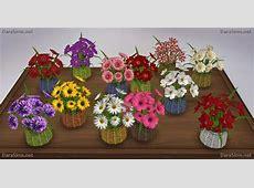 Flowers Set at Dara Sims » Sims 4 Updates