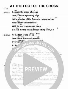 At The Cross Chord Chart At The Foot Of The Cross Chords Sovereign Grace
