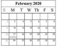 Calendars January 2020 February 2020 How To Schedule Your Month With February 2020 Printable