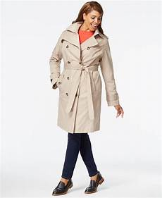 plus size trench coats for 4x foggy fog plus size hooded trench coat in beige