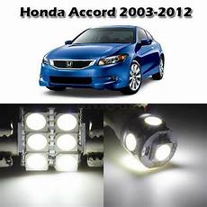 2012 Honda Accord Light Removal 8x White Led Lights Bulbs Interior Package Kit For Honda