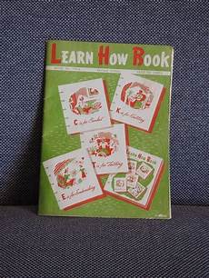 learn how book by coats and clarks care coats and clark learn how to book 1952 crochet knit