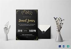 Farewell Invitation Samples Farewell Invitation Card Design Template In Word Psd