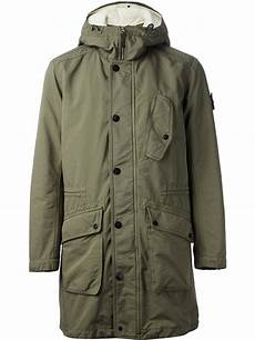 parka coats island classic parka jacket in green for lyst