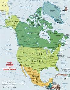 World Map Of North And South America North America Political Map Political Map Of North