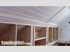 Crown Moulding on Angled Ceiling   Sawdust Girl®