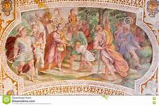 rome italy the esau sells his birthright fresco from