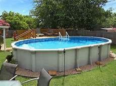 Above Ground Swimming Pool Designs Buttress Vs Buttress Free Oval Swimming Pools
