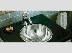Stainless Steel Bathroom Sinks   Bathroom   KOHLER