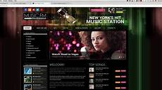 Radio Station Template How To Install Joomla Radio Station Template Youtube