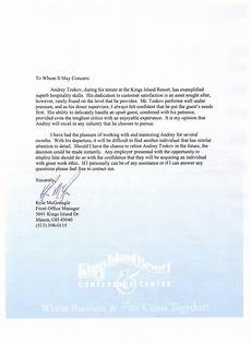 Letter Of Recommendation For Office Manager Letter Of Recommendation