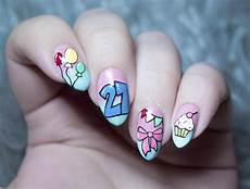 21st Birthday Nail Designs 21 Birthday Nail Designs You Ll Want To Copy