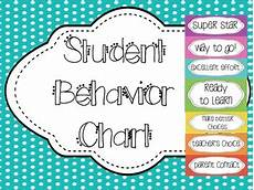 Chevron Behavior Clip Chart Student Behavior Chart Clip System Chevron By Megan