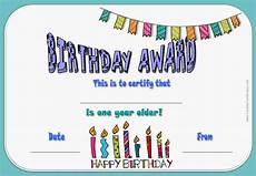 Free Printable Birthday Certificates Free Happy Birthday Certificate Template Customize Online