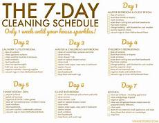 Cleaning House Schedule Chart A Quick Amp Efficient Home Cleaning Routine Free