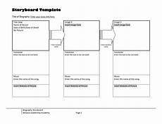 Web Page Storyboard Template 40 Professional Storyboard Templates Amp Examples
