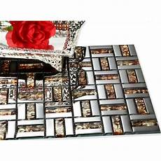 discount kitchen backsplash tile wholesale glass mosaic wall tile gold silver mixed