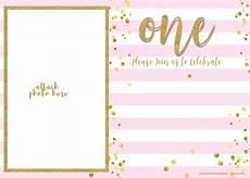 First Birthday Invitation Templates Free Free 1st Birthday Invitations Template For Girl Free