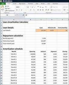 Amortization Schedule Calculator Monthly Loan Amortization Calculator Plan Projections