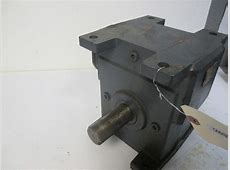 Winsmith 300WU Right Angle 3 Shaft Gear Reducer Ratio 60 1.25 Input HP