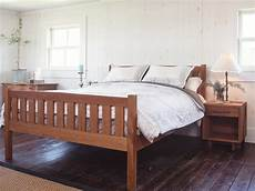 futon bed frame crown mission cherry wood platform bed frame high