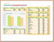 Monthly Business Budget 9 Spreadsheet Business Excel Spreadsheets Group