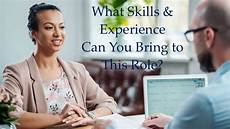 What Skills Can You Bring What Skills And Experience Can You Bring To This Role