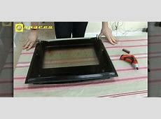 How to Remove and repair a Neff oven door « Home