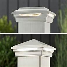 Trex Deck Post Solar Lights Deck Lighting Outdoor Deck Lighting Products Low