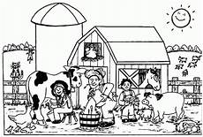 Farm Coloring Page Farm Coloring Pages To Download And Print For Free