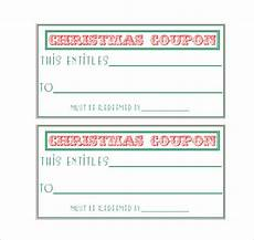 Free Coupon Maker 28 Homemade Coupon Templates Free Sample Example