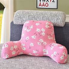 new pillow back cushion with arm support bed reading rest