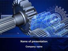 Design Of Machine Elements Powerpoint Design Of Machines Presentation Template For Powerpoint