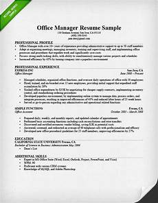 Office Manager Assistant Resumes Office Manager Resume Sample Amp Tips Resume Genius