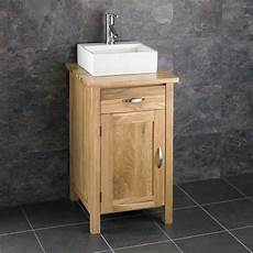 solid oak 45 x 45cm storage freestanding vanity bathroom