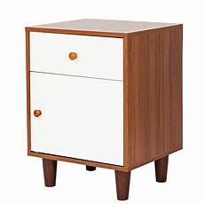 wooden end side bedside table nightstand bedroom decor w