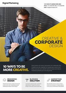 Business Advertisement Template Download Free Business Flyer Template Freedownloadpsd Com