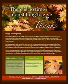 Thanksgiving Newsletter Template Free Holiday Email Templates Email Newsletter Templates Net