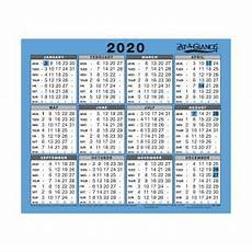 Small Desk Calendar 2020 At A Glance 2020 Wall Desk Calendar Year To View Gloss