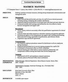 Administrative Functional Resume Functional Resume Sample Free Resume Sample Functional