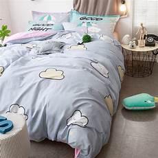 brief grey bedding set 100 cotton duvet cover bed sheet