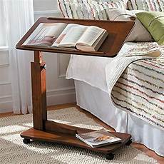 adjustable hospital bedside rolling bed tray table bedroom