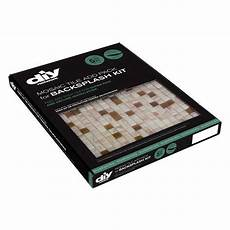 Diy Network Backsplash Kit Peel And Stick Glass Wall Tile Backsplash Kit Diy