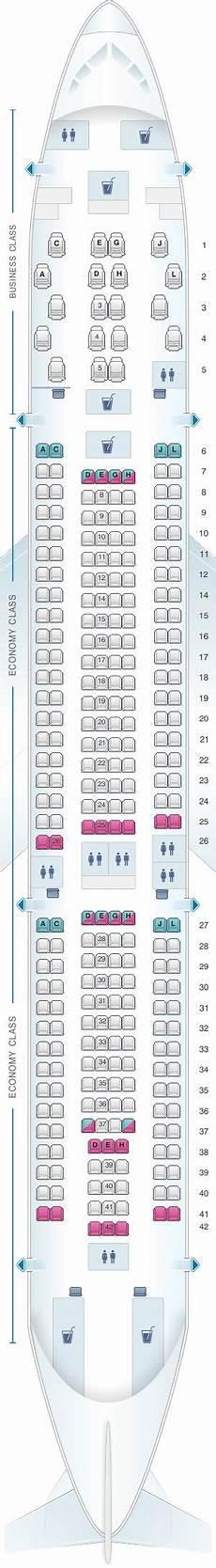 Iberia 2622 Seating Chart Seat Map Iberia Airbus A330 200 Jet Airways Plane Seats