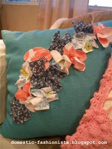 embellish a pillow for favecrafts