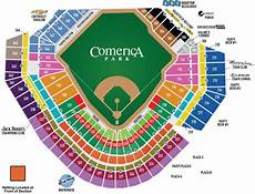 Detroit Tigers Seating Chart With Rows Tiger Stadium Seating Chart